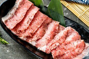 雪花松阪肉