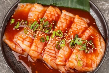 Seasoned Squid